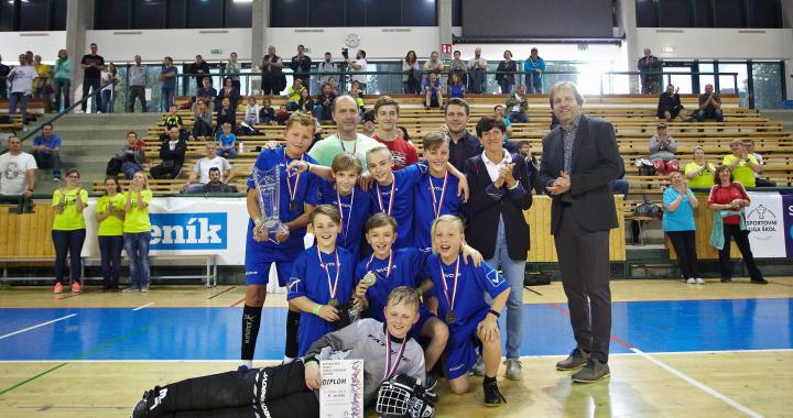 Historicky první republikové finále ve florbalu kategorie SLZŠ Junior ovládla Opava.