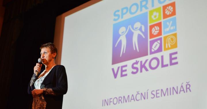 Seminář lektorů projektu Sportuj ve škole