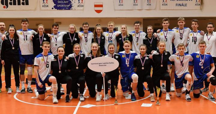 Volejbalové zlato zůstává v Brně