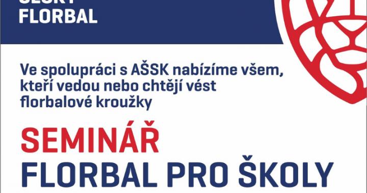 AŠSK připravila ve spolupráci s Českým florbalem školení pro učitele